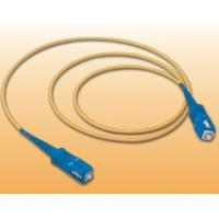 Buy cheap SC-SC Fiber patch cord 1-100meters optional Simplex Duplex optional SC Fiber Pigtail SC to FC ST LC fiber patch cord from Wholesalers