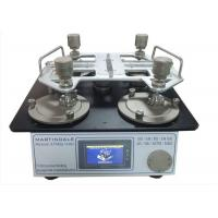 Buy cheap ISO 12945-2 ASTM D4966 Martindale Abrasion And Pilling Tester With 4 Test Stations from wholesalers
