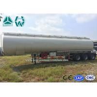 Buy cheap High Capacity Stainless Steel Tanker Trailers , 40000l - 60000l Oil Tanker from wholesalers