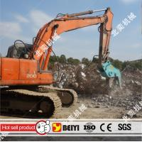 Buy cheap BEIYI BY-HC200 hydraulic pulverizer plier demolition pulverizer concrete factory at 2016 bauma from Wholesalers