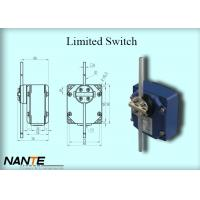 Quality Blue Electric Wire Rope Hoist Limited Switch Plastic Wheel Swing Arm Rotary wholesale
