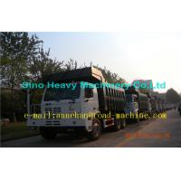 70 Ton Mining Heavy Duty Dump Truck 371hp Container Thickness Bottom 10mm Side 8mm