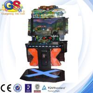 2014 3d video simulator shooting game machine , gun shooting simulator game machine
