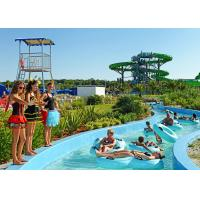Buy cheap Funny Hotel Resort Lazy River Water Park For Family , PLC Central Control from wholesalers