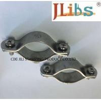 Buy cheap Multicolor Pleated Volt - Endurance Stainless Steel Pipe Clamps For Water Pipeline from wholesalers