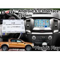 Buy cheap Android 6.0 GPS Navigation Video Interface for Ford Ranger / Explorer SYNC 3 System WIFI BT Mirror link Cast Screen from wholesalers