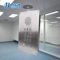 Buy cheap Stainless steel Elevator Emergency Phone Flush mounted steel Hands free telephone from wholesalers