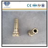Flat Spherical Dth Drilling Tools Gold Color Durable Thrc Series DTH Bits