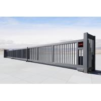 Buy cheap Railless Telescopic Auto Aluminum Motorized Sliding Gate For School from Wholesalers