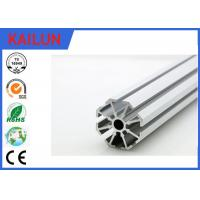 Buy cheap Round T Slot Aluminum Extrusion for Aluminium Construction Profiles Mounting Frames from Wholesalers