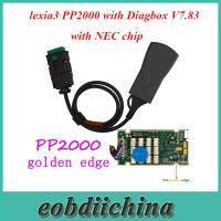 Buy cheap Lite Version lexia3 PP2000 with Diagbox V7.83 Software for Citroen/Peugeot with NEC chip from wholesalers