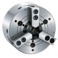 Buy cheap KM 3 Jaw wedge hook type Through hole power lathe chuck from wholesalers