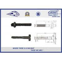 Buy cheap Plain Driving Railroad Spikes Screws For Fasten Sole Plates To Wooden Sleepers from Wholesalers