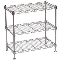 Buy cheap Kitchen Wire Rack/Portable Metal Steel Wire Display Stands Five Tier For Food / Beverage from Wholesalers