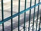 Buy cheap Double Loop Welded Wire Mesh Fence Double Wire Mesh Powder Coated For Boundary from wholesalers