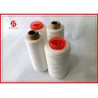 Strong Undyed Sewing 100% Polyester Yarn , Recycled TFO Ring Spun Yarn