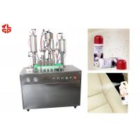 Quality Automatic Aerosol Spray Filling Machine for Furniture cleaning Spray 5000-8000cans/shift wholesale