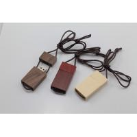 Buy cheap Lanyard Custom Wood USB Flash Drive 3.0 Up to 64GB Personalized from wholesalers