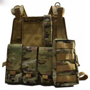Quality Military Level 2 Bullet Proof Vest , Light Bulletproof Tactical Vest wholesale