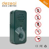 Dezeal DZ-205 Amazon hot sale portable ultrasonic animal dog repeller for mice mouse insects ants cat