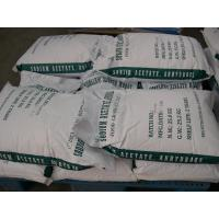 Buy cheap Food Grade Sodium Acetate Anhydrous For polymerization catalyst from wholesalers