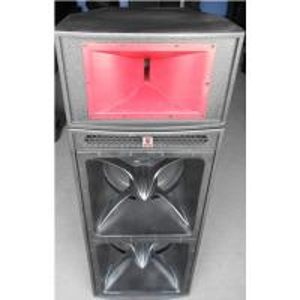 China dual 18'' horn-loaded speaker with 3'' top speaker 1.6 meter height subwoofer loudspeaker pro audio speaker box system on sale