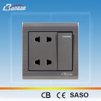 LK6048 4 pin 86 type wall electrical socket