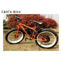 China Off Road Fat Tire Electric Bicycle , 25kph Speed Electric Fat Tyre Bike on sale