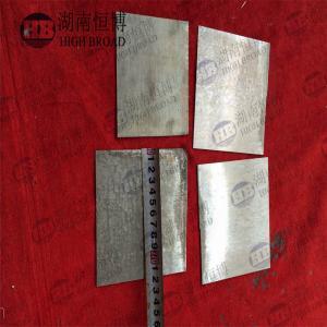 Buy cheap Air Battery Thin Metal Sheet Plate AZ31 AZ61 AZ91 High Capacity Magnesium from wholesalers