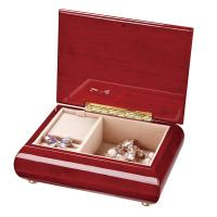 Buy cheap Promotional Luxury Red Painted Wooden earring Jewelry art Boxes / case for girls from Wholesalers