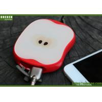 Buy cheap USB Quick Charge 8000mAh Mobile Phone Power Bank Apple Shaped 5V / 2A Input from Wholesalers