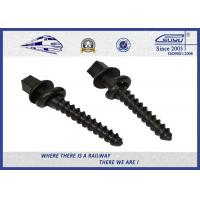 Buy cheap Black painting Track Railway Sleeper Fixing Screws With Washers from Wholesalers