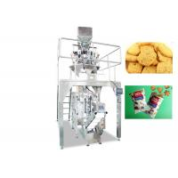 Quality 220V / 380V Cookies Food Pouch Packaging Machines / Food Packaging Equipment for sale