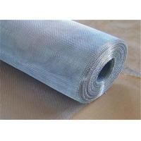 Buy cheap Residential Security Mesh Galvanized Window Screen With Low Carbon Steel Wire from Wholesalers