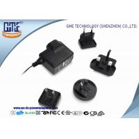 Buy cheap Interchangeable 5V 1A AC DC Power Adapter CE CB GS UL FCC PSE ROHS RCM from Wholesalers