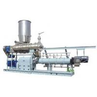 Buy cheap 1000kg/h twin screw extruder Jordan  floating fish feed machine price from Wholesalers