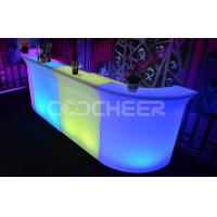 Buy cheap Outdoor Modern bar counter furniture , led illuminated furniture from Wholesalers