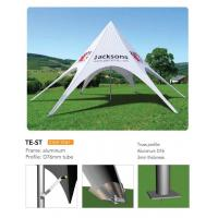 Quality Outdoor Personalized Canopy Tents , Foldable Star Custom Printed Pop Up Tents wholesale