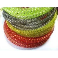 Buy cheap PET Mylar Braided Wire Mesh Sleeve for Lights And Gifts Decoration from Wholesalers