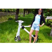 Quality White colour  36v Li-Battery  car portable mini folding electric scooter for adult wholesale
