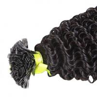China pre tip keratin hair extensions on sale