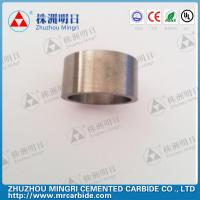 Buy cheap Grade YG22C Tungsten Carbide Roller Rings good wear resistance and bending strength from Wholesalers