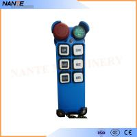 Buy cheap Single Speed Blue Color Wireless Hoist Remote Control Used For Industrial Work from Wholesalers