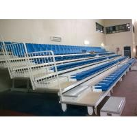 Buy cheap Economical Telescopic Arena Stage Seating / Wall Attached Temporary Stadium Seating from Wholesalers
