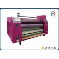 Buy cheap Automatic Roll To Roll Heat Transfer Machine Sublimation Pink Oil CE from Wholesalers