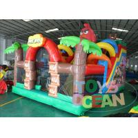 China Inflatable Angly Brids Inflatable Bouncer Combo House 2 Years Warranty on sale