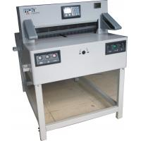 Buy cheap Electric Programmable Paper Cutting Machine 1200W With Two Motors 7205PX from Wholesalers