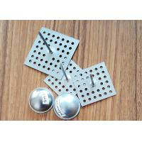 Buy cheap SS Perforated Base Insulation Anchor Pins, Insulation Hangers With Dome Caps from Wholesalers