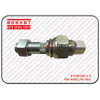 Buy cheap Polished Truck Chassis Parts Npr66 4HF1 700P Rear Wheel Pin 8970815852 8-97081585-2 from Wholesalers