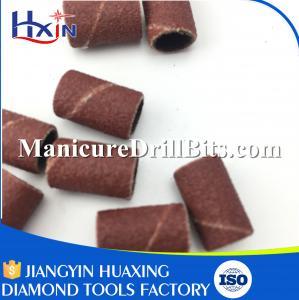 #180 Diamond Grit Nail Sanding Bands Grinding Head 8x12mm Wear Resistance